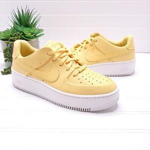 Nike AF1 Sage Low Platform Sneakers Women's Sz 9.5